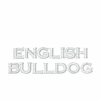 Zip Hoody ladies (of ladies) English Bulldog