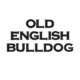 Zip Hoody ladies (of ladies) old English Bulldog