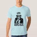 Zip it Hippie! T-Shirt