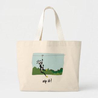 """Zip It!"" Jumbo Tote Bag"