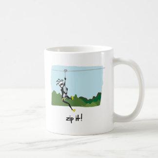 """Zip It!"" Mug"