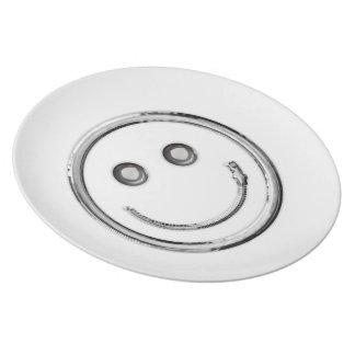 Zip It - Smiley Dinner Plate