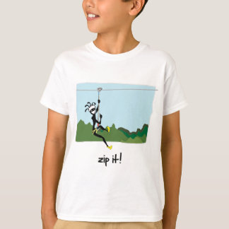 """Zip It!"" T-Shirt"