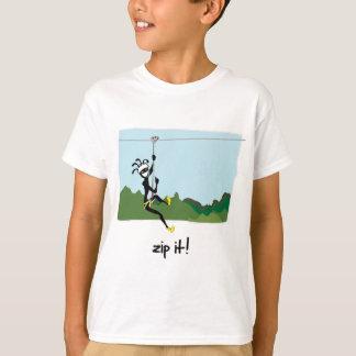 """""""Zip It!"""" T-Shirt"""