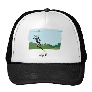 """Zip It!"" Trucker Hat"