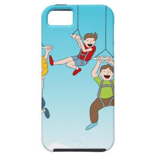 Zip Line Riders iPhone SE/5/5s Case