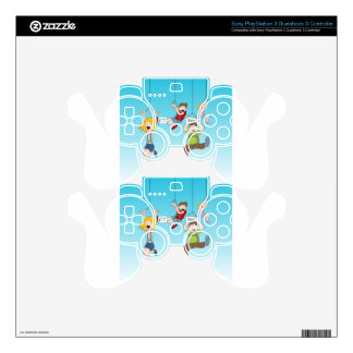 Zip Line Riders Skin For PS3 Controller