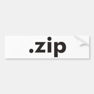 ZIP Products & Designs! Car Bumper Sticker