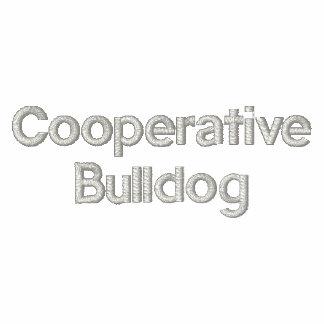 Zip Sweat ladies of ladies Cooperative Bulldog Embroidered Jacket