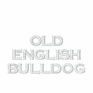 Zip Sweat ladies (of ladies) old English Bulldog Embroidered Jackets