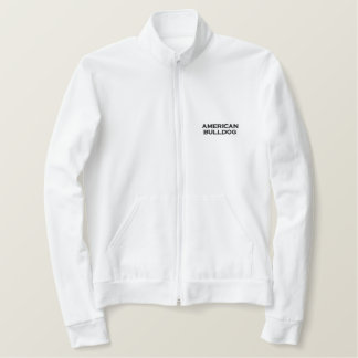Zip Sweat Mr. (signors) American Bulldog Embroidered Jacket