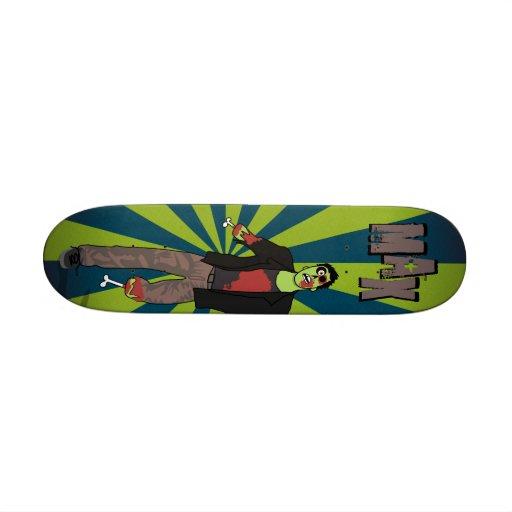 Zip the Zombie Skateboard