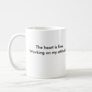zipclub heart, The heart is fine.Working on my ... Classic White Coffee Mug