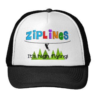 ZipLine Lovers Gifts Hat