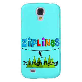 ZipLine Lovers Gifts Samsung Galaxy S4 Covers