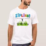ZipLine Lovers Gifts T-Shirt