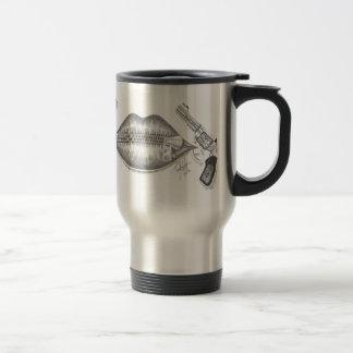 zipped Lips Travel Mug