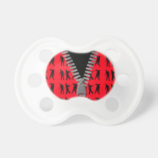Zipped Up Zombies Everywhere Pacifier