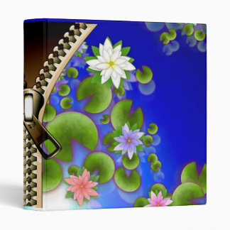Zipper 3 Ring Binder