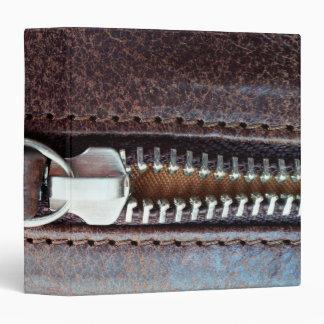 Zipper 3 Ring Binder
