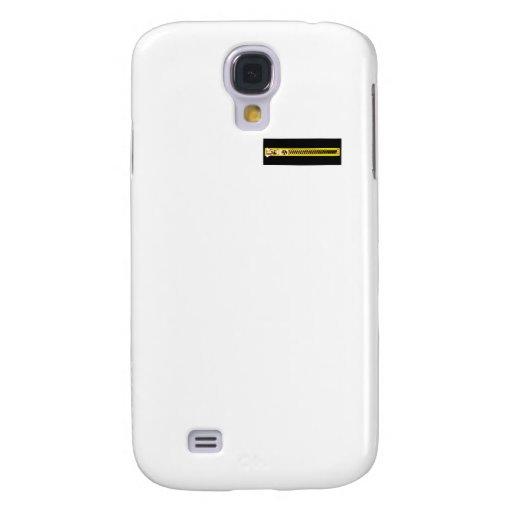 Zipper Black Yellow Copper 1bH The MUSEUM Zazzle Galaxy S4 Cases