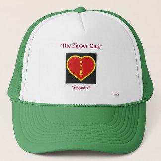 zipper club  supporter trucker hat
