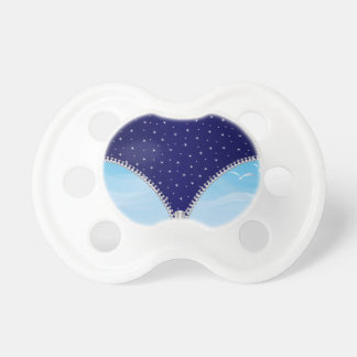 Zipper Day And Night Pacifier