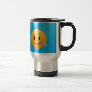 Zipper Emoji Travel Mug