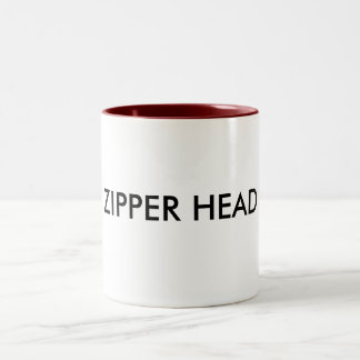 ZIPPER HEAD coffee cup