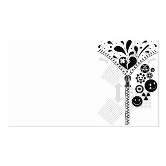 Zipper_Heart Business Cards