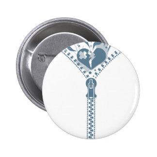 Zipper_Heart Button