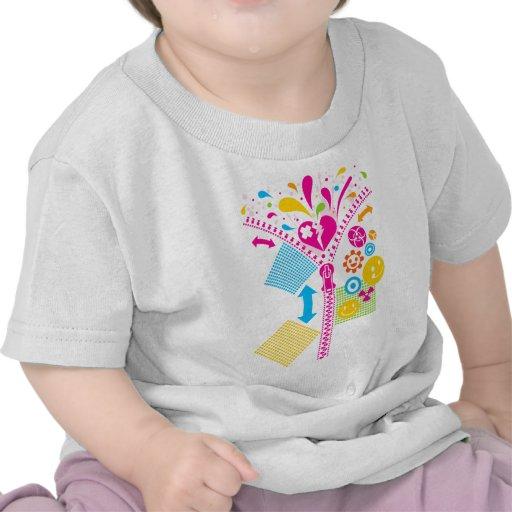 Zipper_Heart Camiseta