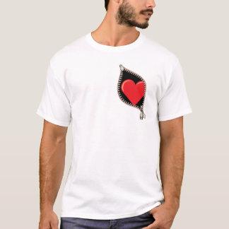 Zipper Heart T-Shirt