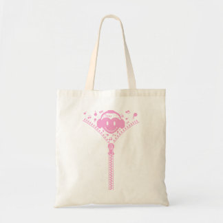 Zipper_Heart Tote Bag