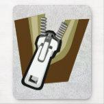 """Zipper On A Mousepad"""