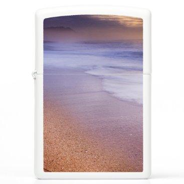Beach Themed Zippo lighter with Sunrise over Beach