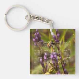 Zippy Bee; 2013 Calendar Keychain