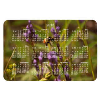 Zippy Bee; 2013 Calendar Magnet
