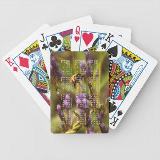 Zippy Bee; 2013 Calendar Bicycle Playing Cards