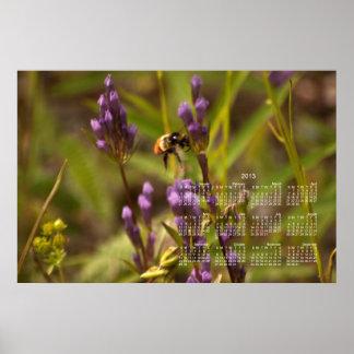 Zippy Bee; 2013 Calendar Posters