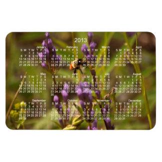 Zippy Bee; 2013 Calendar Rectangular Photo Magnet