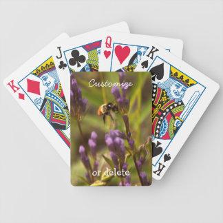 Zippy Bee; Customizable Playing Cards