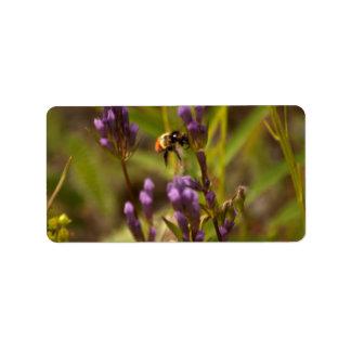Zippy Bee Custom Address Labels