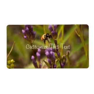 Zippy Bee Personalized Shipping Labels