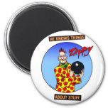 Zippy Bowling Magnet