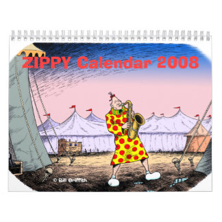 ZIPPY Calendar 2008