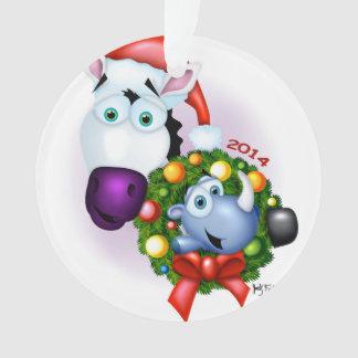 Zippy Commemorative Christmas Ornament 2014
