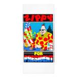 Zippy For President! Custom Rack Card