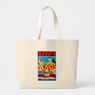 Zippy for President Large Tote Bag