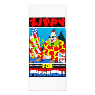 Zippy For President! Rack Card
